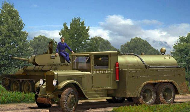 Первый боевой опыт службы снабжения горючим