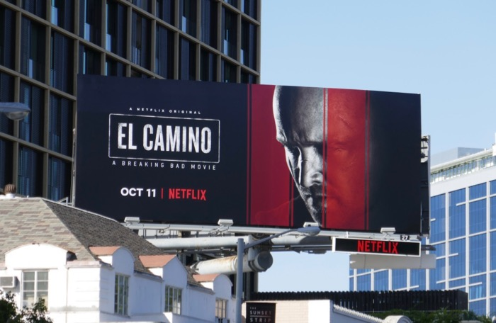 El Camino Breaking Bad movie billboard