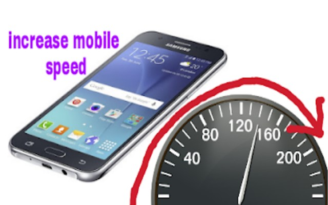Increase mobile speed