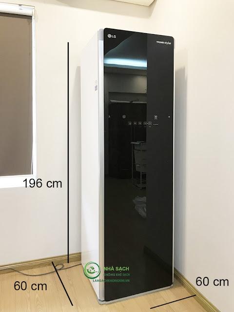 Hướng dẫn sử dụng máy giặt hấp sấy LG an toàn