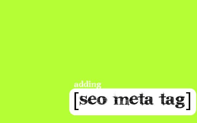 Cara Menambahkan Meta Tag yang Seo Friendly Di Blogger