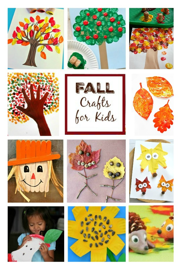 25 FALL CRAFTS FOR KIDS. These are adorable!  #fallcraftsforkids #fallactivitiesfortoddlers #autumncraftskids #craftsforfall