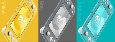 Varian warna nintendo switch