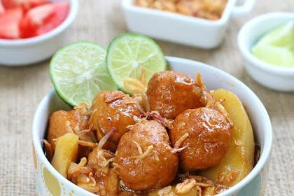 Resep & Cara Membuat Semur Bakso Ayam