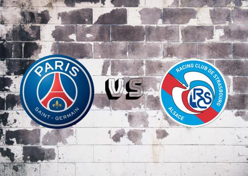 PSG vs Strasbourg  Resumen