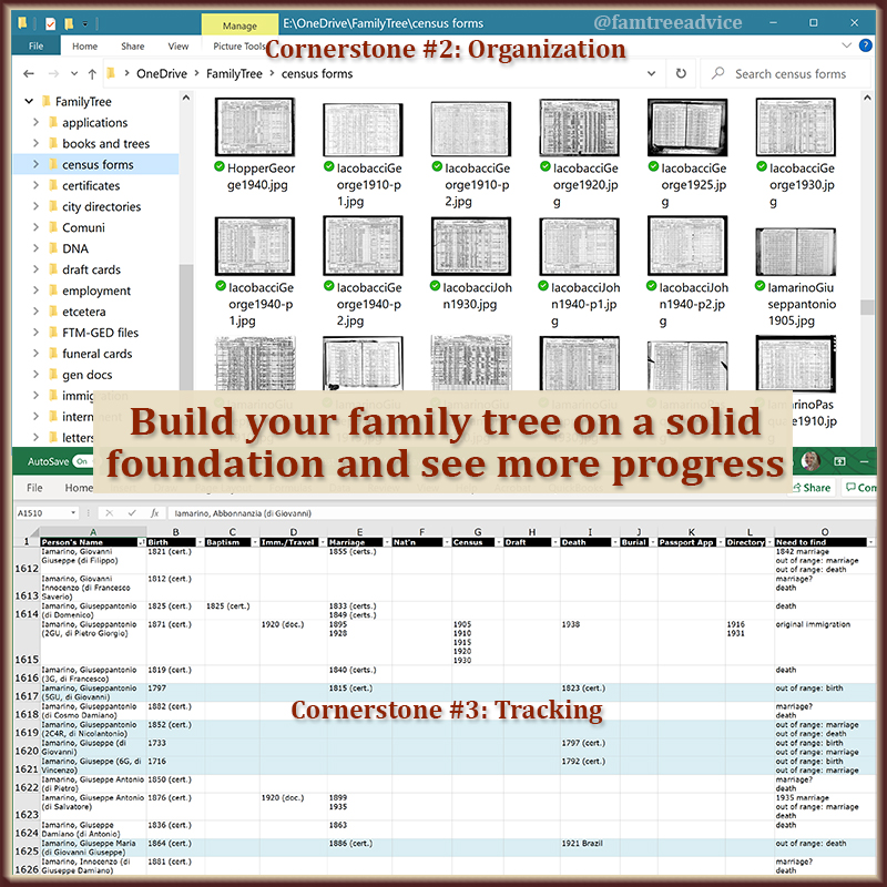 Family tree research can get out of control in a hurry. Get organized now to lay a solid foundation.