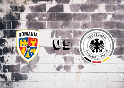 Rumanía vs Alemania  Resumen y Partido Completo