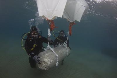 Υποβρύχια αρχαιολογική υποβρύχια έρευνα στο αρχαίο λιμάνι του Λεχαίου