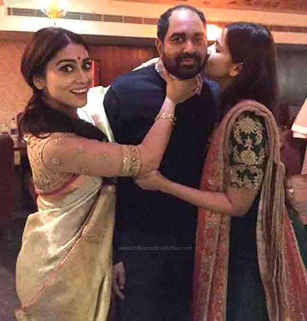 Ramya kissed by Her Husband Krish