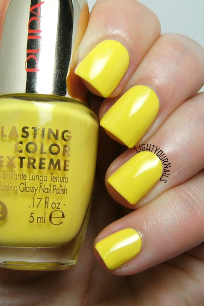 Smalto Pupa Lasting Color Extreme 040 Yellow Side nail polish