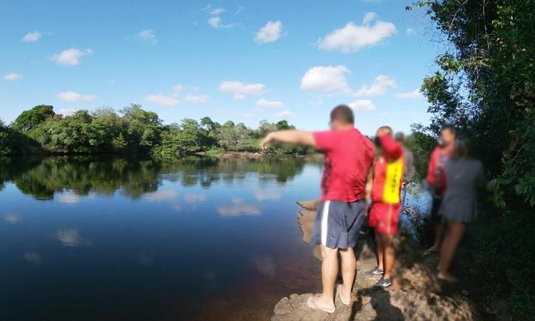 Menino de 9 anos é encontrado morto no Rio Paraguaçu, na Chapada Diamantina