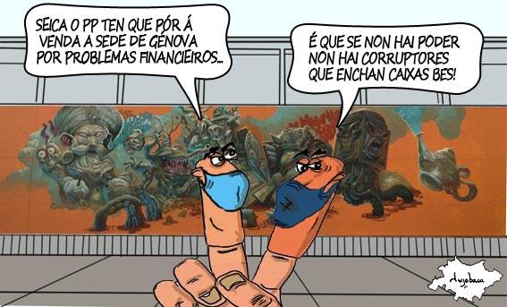 As débedas urxen ao PP a vender Génova