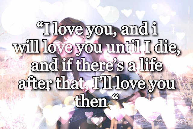 I love you, quotes for girls