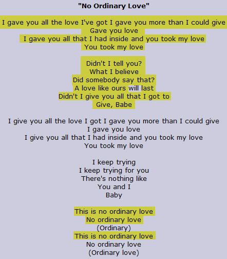 sade ordinary love lyrics