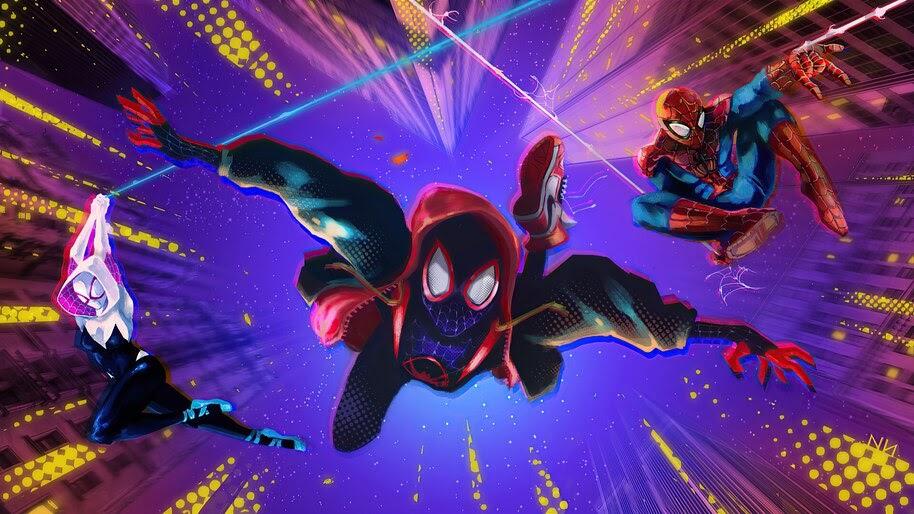 Spider-Man, Into the Spider-Verse, Miles Morales, 4K, #6.2554