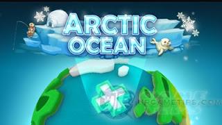 Hungry Shark World Arctic Ocean Map
