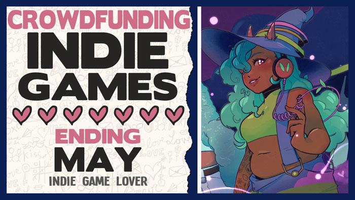 Kickstarter Indie Games ❤ May 2021 Part 2