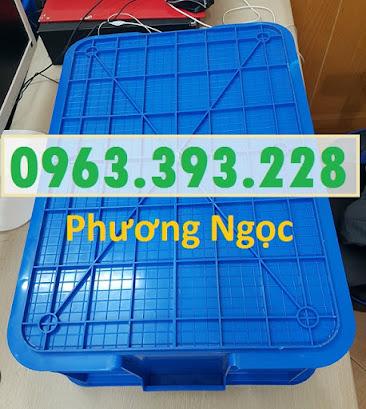 Thùng nhựa đặc B1, sóng nhựa công nghiệp, thùng nhựa có nắp, hộp nhựa linh kiện TN%25C4%2590B14