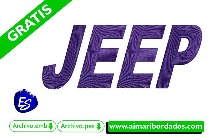 Logo JEEP Para Bordar