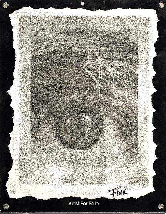 01-My-Eye-Artist-s-hair-Bill-Fink-Creating-Art-from-Unconventional-Materials-www-designstack-co