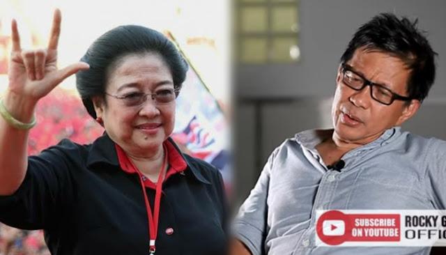 Rocky Gerung Tak Mau Kritik Megawati, Ini Alasannya