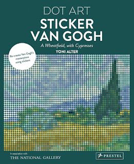 Van Gogh Dot Art Sticker Book craft