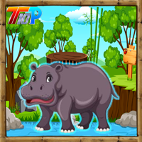 Top10NewGames Rescue The Hippopotamus