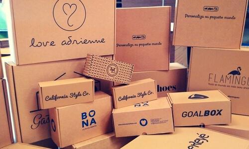 cajas de envios