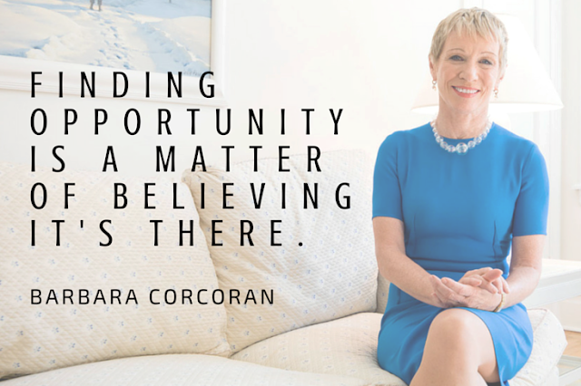 Barbara Corcoran MOtivational Business Quotes Shark Tank Inspirational Advice Entrepreneur Startup
