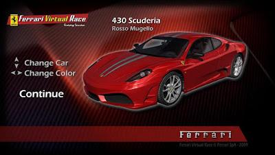 game Ferrari Virtual Race