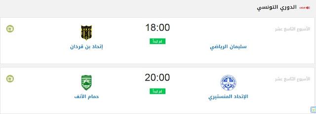 جدول مباريات اليوم - مباريات اليوم الثلاثاء 11-8-2020