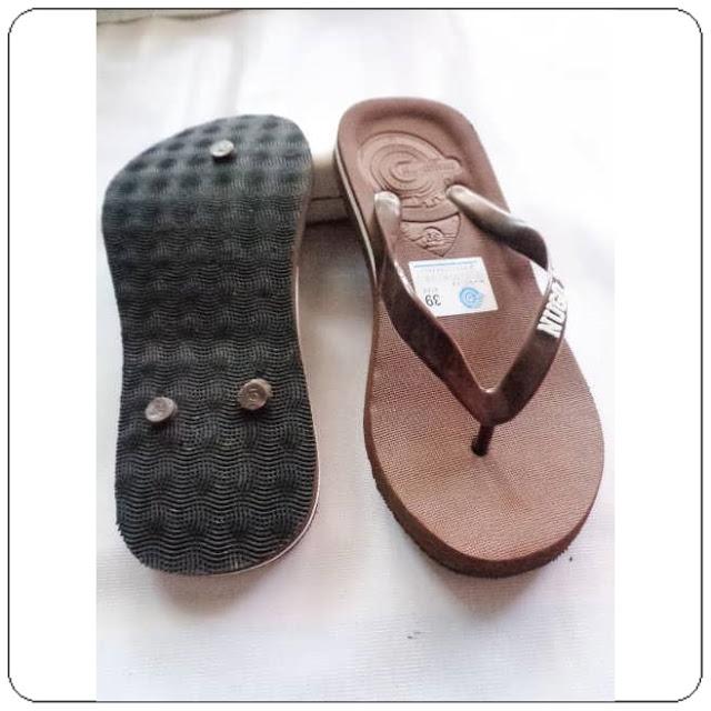 grosirsandalmurah.org - Sandal Pria - Sandal Spon Super Simplek AB