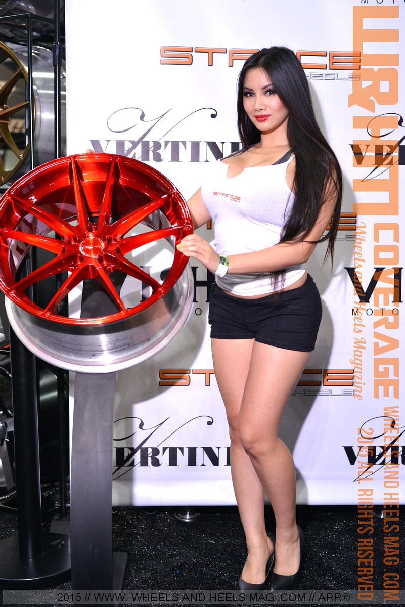Xena Kai import model for Stance Wheels in DUB LA 2015