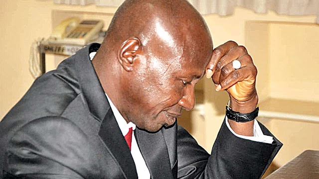 BREAKING: Police writes Magu, insists he is being detained by presidency