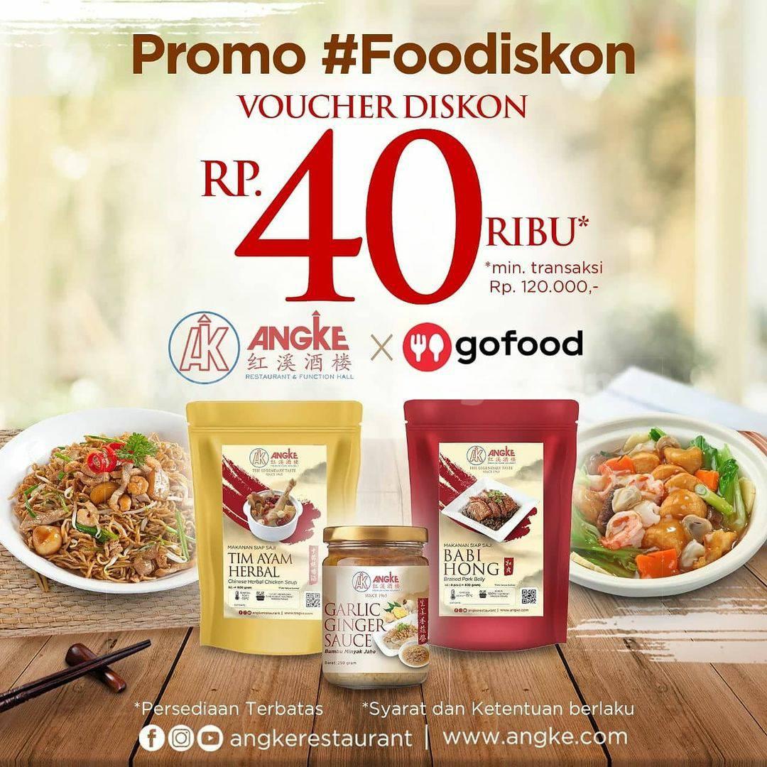 Promo Angke Restaurant Diskon Rp 40.000 via Gofood hingga 10 januari 2021