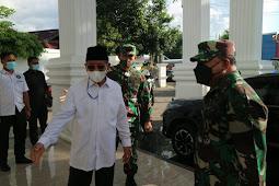 Abdul Gani Kasuba Silaturahmi dengan Jeffry Apoly Rahawarin dan Rombongan Kodam Pattimura