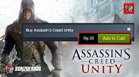 Steam Error! Assasin Creed hanya Rp28
