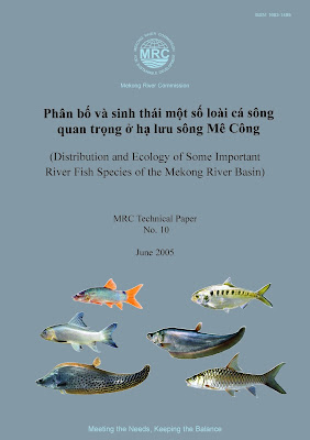 [EBOOK] Phân bố và sinh thái một số loài cá sông quan trọng ở hạ lưu sông Mê Công (Distribution and Ecology of Some Important River Fish Species of the Mekong River Basin), Nhiều tác giả, MRC Technical Paper