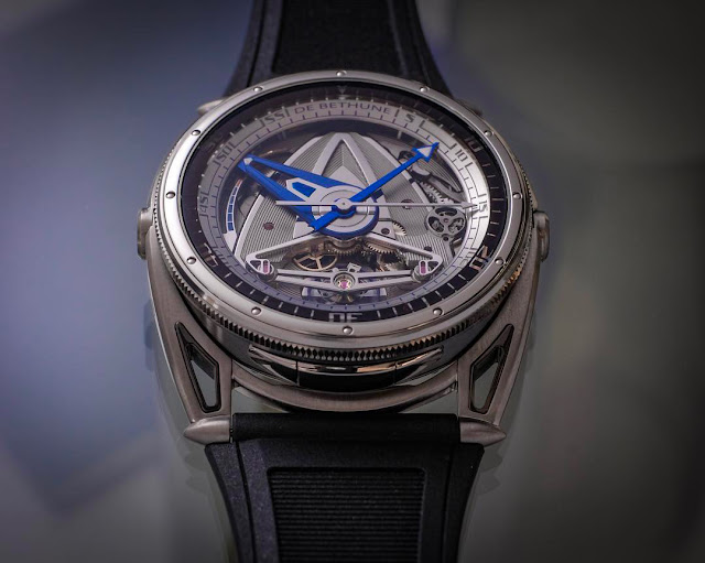 De Bethune DB28 GS Grand Bleu ref. DB28GSV2AN