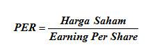 Price Earning Ratio (PER)