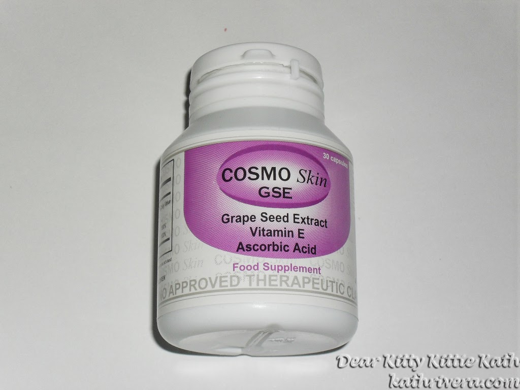 Product Review Cosmo Skin Gse Grape Seed Extract Dear