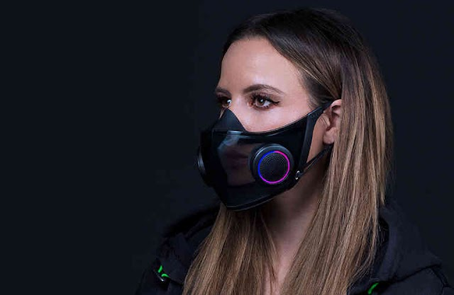 Razer face mask project hazel