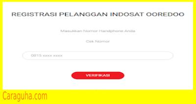 Gagal Registrasi Indosat 5 kali