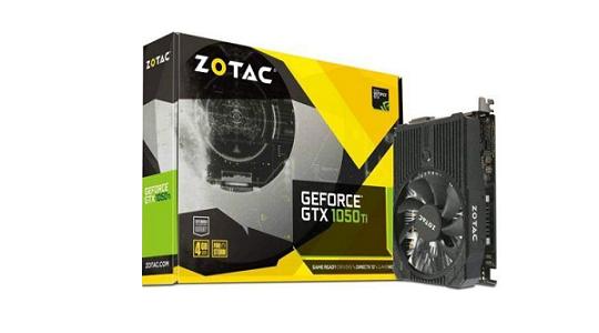 Zotac Nvidia GeForce GTX 1050 Ti Mini 4GB GDDR5