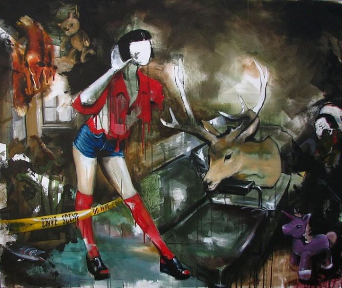 Румынский художник