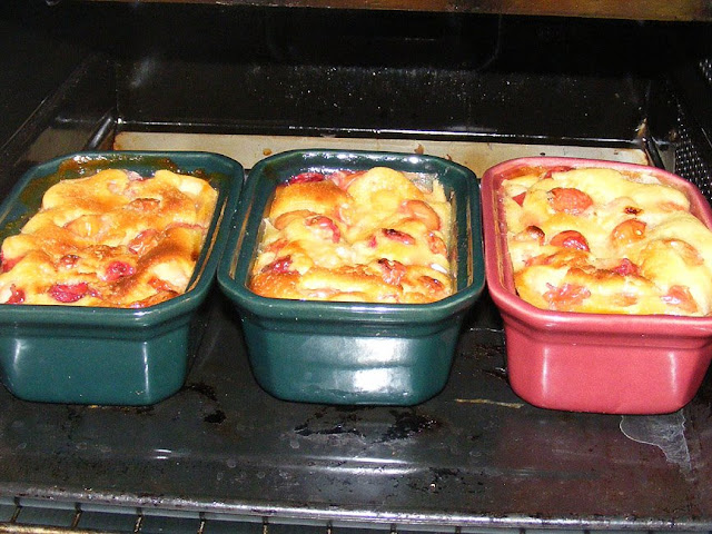 Individual clafoutis. Photo by Loire Valley Time Travel.
