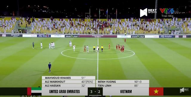 Tiến Linh, Minh Vương ghi bàn, tuyển Việt Nam chính thức tiến vào vòng loại thứ 3 World Cup 2022