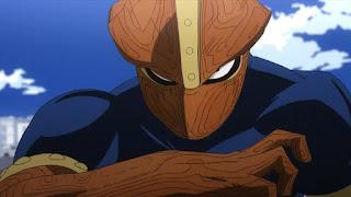 ヒロアカ   シンリンカムイ Kamui Woods   チーム・ラーカーズ   The Lurkers   僕のヒーローアカデミア アニメ   プロヒーロー   My Hero Academia   Hello Anime !