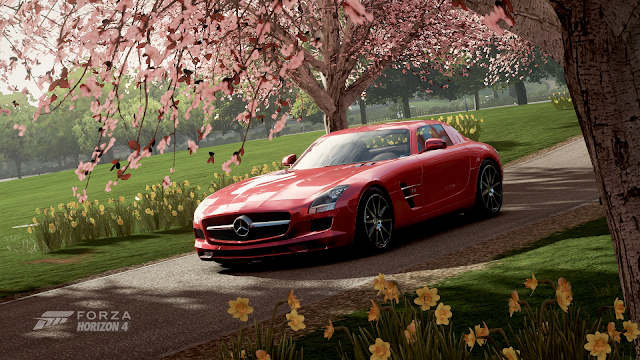Forza Horizon 4 | Red SLS | For Gamers Like Me