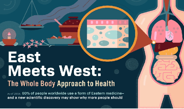 East Meets West: The Whole Body Approach to Health #infographic